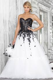 wholesale 2014 sweetheart black and white soft tulle corset prom