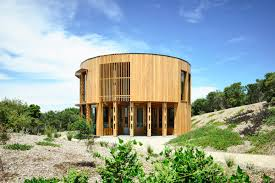 100 Beach House Landscaping Circular Beach House In Australia Is A Study In Modest