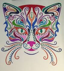BD Illustration Cats Coloring For Mindfulness Found At Barnes And Noble Upc