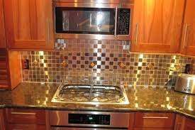 glass tile backsplash ideas for modern kitchen centerpiece