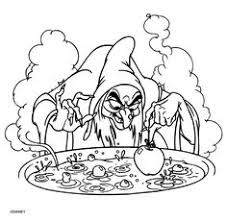 Witch Coloring Pages For Adults