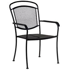 Wrought Iron Mesh Back Chair - Black | At Home 42 Black Metal Outdoor Fniture Ding Phi Villa 300lbs Wrought Iron Patio Bistro Chairs With Armrest For Genbackyard 2 Pack Wrought Iron Garden Fniture Mainstays 3piece Set Gorgeous Patio Design Using Black Chair And Round Table With Curving Legs Also Fabric Arlington House Chair Commercial Sams Club 2498 Slat At Home Lck Table2 Chairs Outdoor Gray Mesh Back