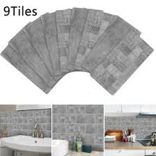 pvc mosaik selbstklebend badezimmer küche aufkleber dekor