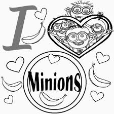 Printable 16 Minion Birthday Coloring Pages 4383