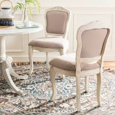 FOX6233ASET2 Dining Chairs Furniture By Safavieh