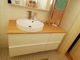 badezimmer waschbeckenunterschrank waschbecken wasserhahn ikea