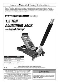 Aluminum Floor Jack 3 Ton by Harbor Freight Tools Floor Jacks 1 5 Ton Compact Aluminum Racing