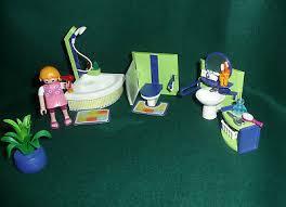 playmobil puppenhaus 4285 badezimmer schrank grün playmobil