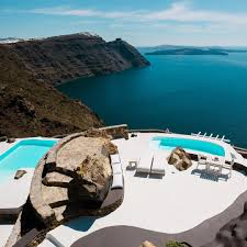 100 Aenaon Villas Santorini Greece The Location Of This