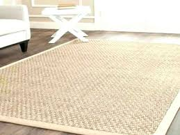 Round Seagrass Rug Hand Woven Natural Fiber Accents Thick Jute 8 Rugs Soft