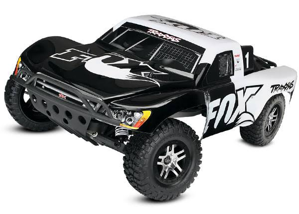 Traxxas 58076-4 - Slash VXL 1/10 2WD Short Course Truck RTR w/ TSM, Fox Edition