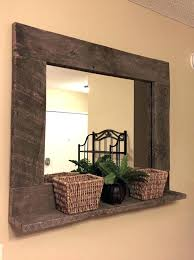 Long Rectangular Bathroom Mirrors Furniture Mart Jacksonville