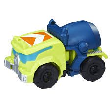 100 Rescue Bots Fire Truck New Motorcycle Chase And Cement Mixer Salvage Toys From