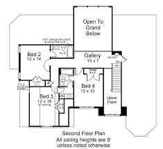 Second Floor House Design by 2nd Floor House Plan Home Decorating Interior Design Bath