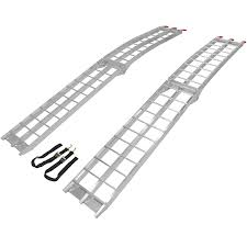 100 Aluminum Loading Ramps For Pickup Trucks Amazoncom Titan Pair Lawnmower ATV Truck