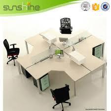 ordinateur de bureau compact t bureau d ombre écran de séparation 4 personne compact ordinateur