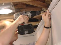 4 X 8 Drop Ceiling Panels by How To Install An Acoustic Drop Ceiling How Tos Diy