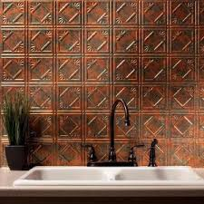Fasade Decorative Thermoplastic Panels Home Depot by Fasade 24 In X 18 In Traditional 4 Pvc Decorative Backsplash