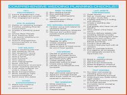 Awesome Wedding Checklist Pdf