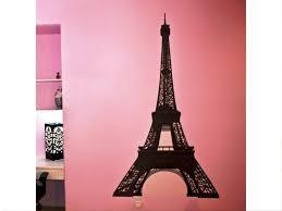 Paris Eiffel Tower Bathroom Decor by Real Parisian Decoration With Eiffel Tower Wall Decal U2014 Jen U0026 Joes