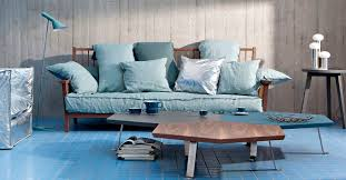 navone canape canapé contemporain en chêne en noyer américain par