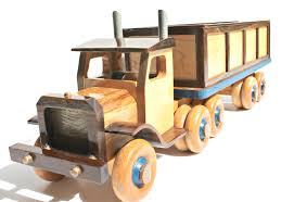 100 Semi Truck Toy Wooden