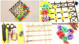 Home Craft O DIY Kids Paper Crafts Step By Tutorial Video Wall Decoration Ideas With