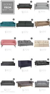 Living Room Sets Under 600 Dollars by Design Mistake 1 The Generic Sofa Emily Henderson
