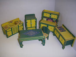 PAPER HOUSE Built Rite Furniture 1930 You will see pressing the