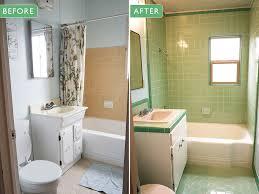 s green b w tile bathroom remodel in progress retro renovation