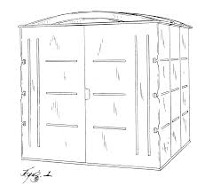 Arrow Storage Sheds Sears by Patent Usd451608 Modular Storage Shed Google Patents