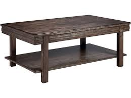 Kincaid Furniture Living Room Cantilever Cocktail Table 84 023