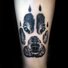 Realistic Wolf Paw Male Tattoo On Forearm Id Like To Have This As A