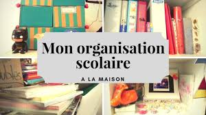 back to school mon organisation à la maison