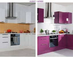 peinture meuble cuisine stratifié relooker ses meubles de cuisine à peu de frais deco cool