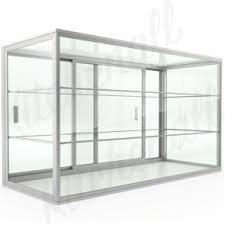 24 Countertop Straight Glass Food Display Case