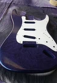 A White Pickguard Contrasts Well