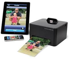 Wireless Smartphone Printer prints without wires or ink