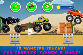 100 Monster Trucks For Kids Game For 2 For Android APK Download