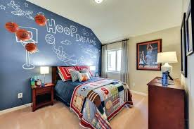 chambre basketball deco basketball chambre cheap decoration chambre garcon ans