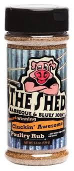 upc 853988002456 the shed barbeque blues joint cluckin awesome