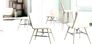 Design Dining Table Restaurant Chair Oak Ash Leather Spine Chairs