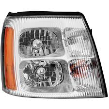 Free Shipping on 2003 2009 Cadillac Escalade Headlight Assembly