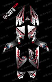 kit decoration flash idgrafix yamaha 700 raptor idgrafix