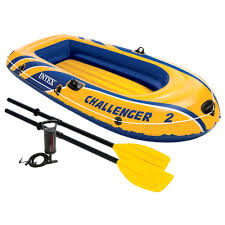 Intex Inflatable Sofa Uk by Intex Challenger 2 2 Person Inflatable Boat Set With French Oars