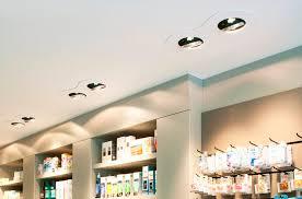 spot encastrable au plafond halogène rond en aluminium