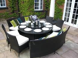 Outdoor Dining Room Sets Innovative Round Patio Table