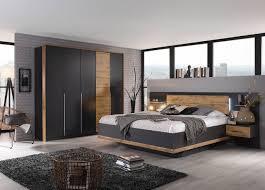 schlafzimmer grau abs eiche dekor