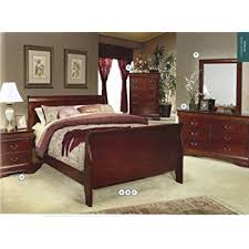 amazon com acme 19517ek louis philippe iii eastern king bed