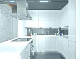 Modern Kitchen Design U Shape Shaped Black And White Theme Images